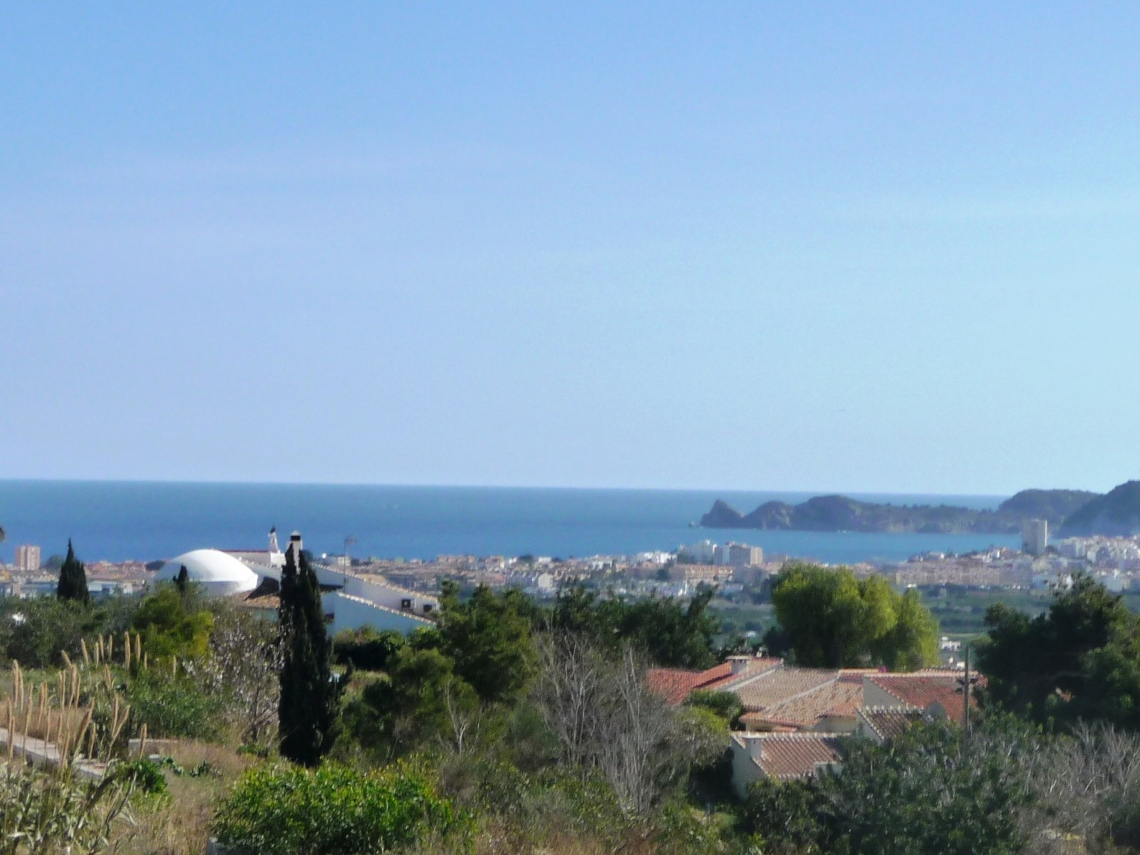 URBAN PLOT WITH SEA VIEWS FOR SALE IN JAVEA, COSTA BLANCA