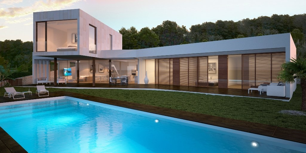 NEW CONSTRUCTION WITH SEAVIEW IN JAVEA, COSTA BLANCA.