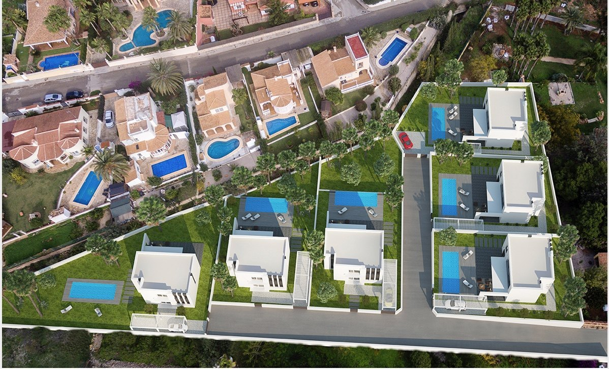 MODERN VILLA OF NEW CONSTRUCTION FOR SALE IN DENIA - TOSSAL GROSS - COSTA BLANCA