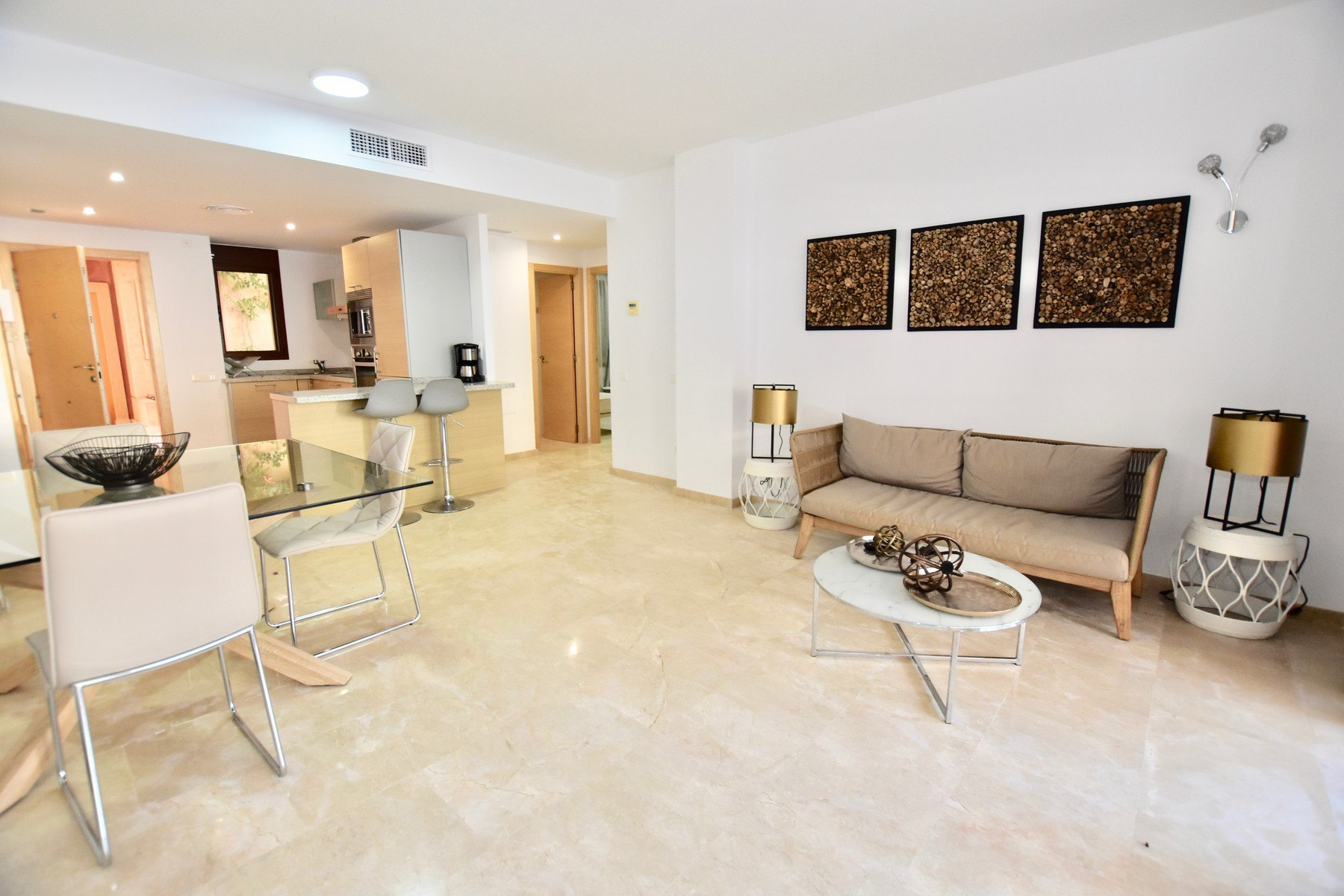 Beautiful 2 bedroom apartment in urbanization Jardines de Montemar in Moraira - Costa Blanca