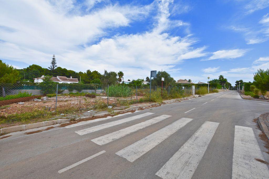 Modern Villa Project with license for Sale in La Guardia Park - Javea