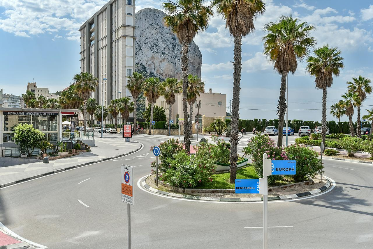 New construction apartment for sale in Calpe with sea views - Costa Blanca