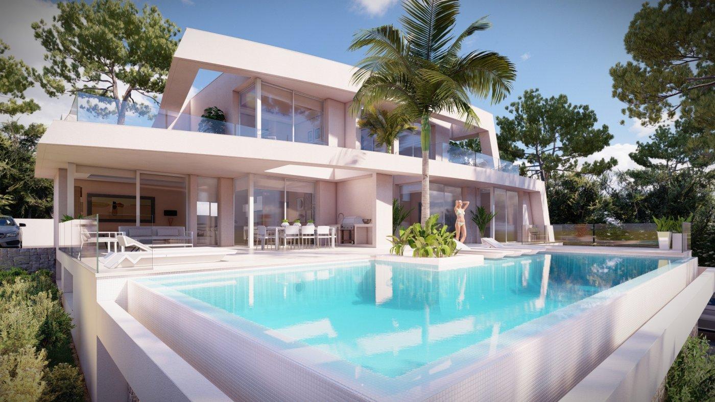 Exclusive Luxury Villa Project for Sale in the Fustera - Benissa - Costa Blanca