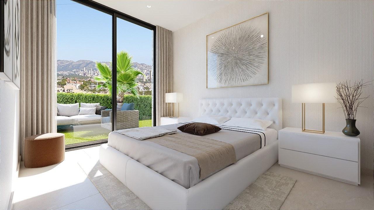 Modern style luxury villa for sale in Sierra Cortina - Benidorm