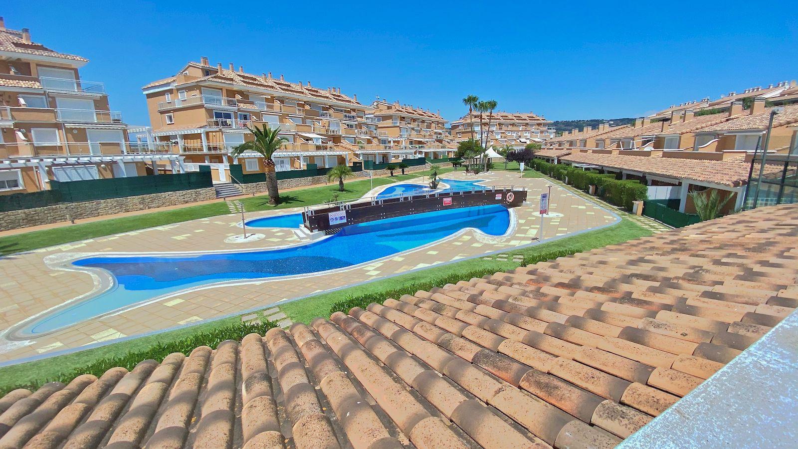 Terraced house for sale in the Arenal de Javea - Costa Blanca Norte