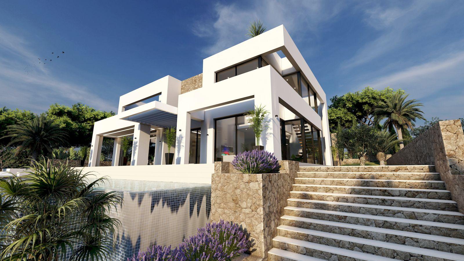 Modern New Construction Villa for Sale in Benissa - Costa Blanca
