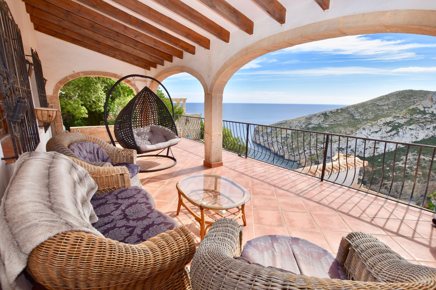 Villa for sale in Cala de la Granadella with sea views - Javea - Costa Blanca
